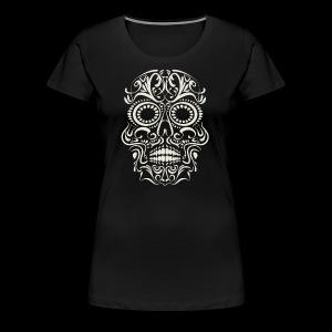 Sugar Skull Calavera - Women's Premium T-Shirt