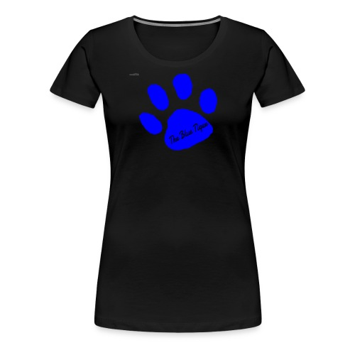 Signed Print from The Blue Tiger - Women's Premium T-Shirt