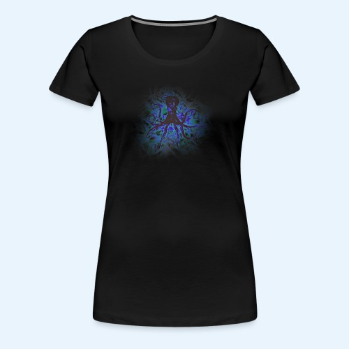 Octopus darklight - Women's Premium T-Shirt