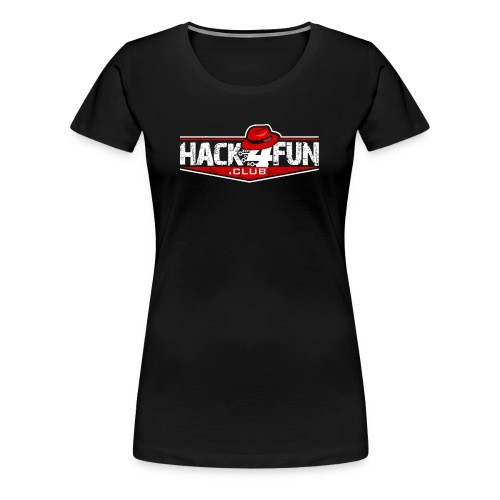 HACK4FUN WHITE - Women's Premium T-Shirt