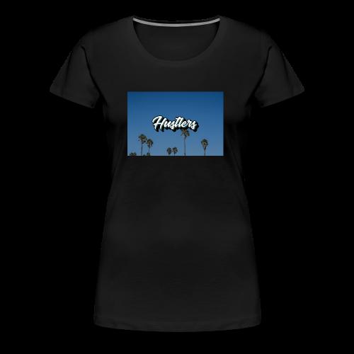 Hustlers Palm Tree Collection - Women's Premium T-Shirt