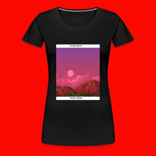 TEAM OKAY 8-bit - Women's Premium T-Shirt