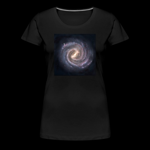 The Milky way - Women's Premium T-Shirt