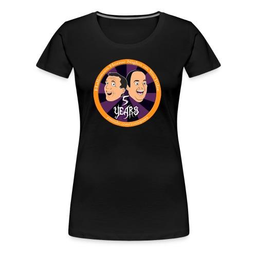 5 years of HHN - Women's Premium T-Shirt