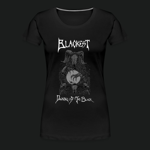 Dawning of the Black Design - Women's Premium T-Shirt