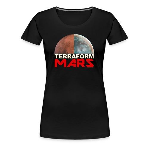 Terraform Mars - Women's Premium T-Shirt