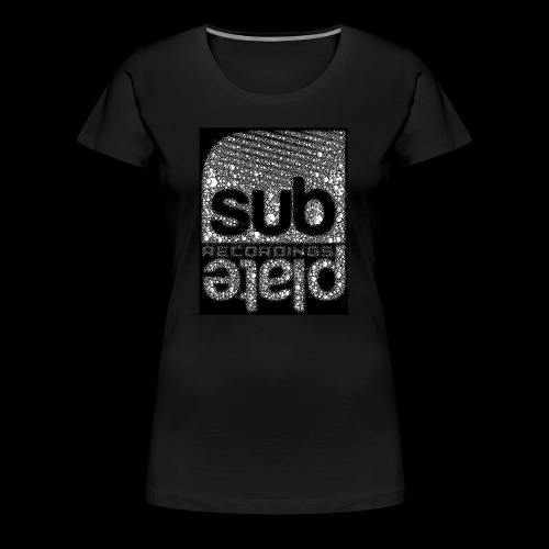 Subplate Recordings - Logo Cube - Women's Premium T-Shirt