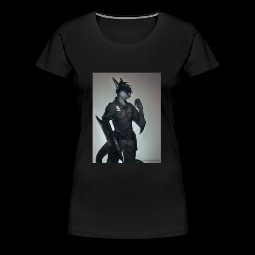 riptideshark officer riptide requesting backup - Women's Premium T-Shirt