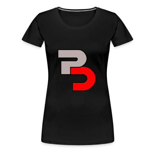 P And C logo - Women's Premium T-Shirt