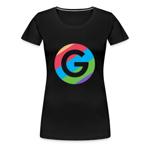 Goodnet Logo Round - Women's Premium T-Shirt