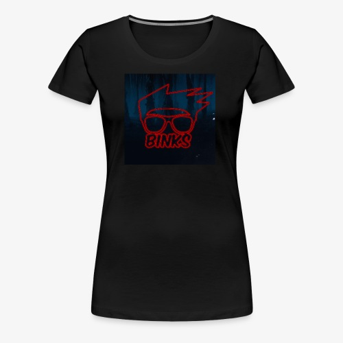 Binks Upside Down - Women's Premium T-Shirt