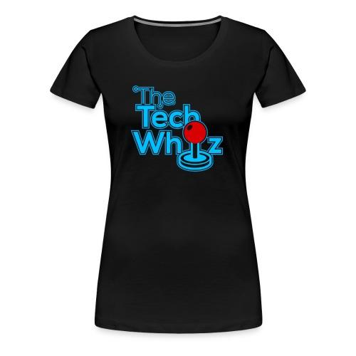 TheTechWhiz Stacked Logo - Women's Premium T-Shirt