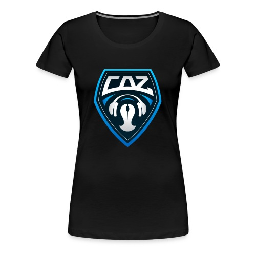 CAZ GAMING - Women's Premium T-Shirt