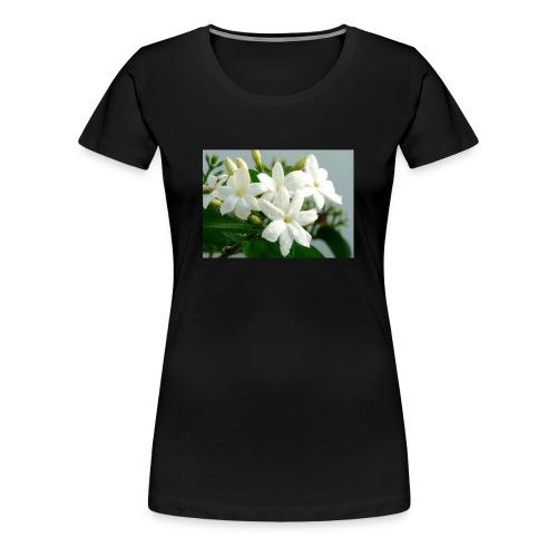 Jasmine Flower - Women's Premium T-Shirt