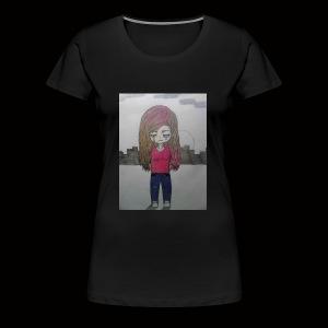 Heart break and loneliness - Women's Premium T-Shirt
