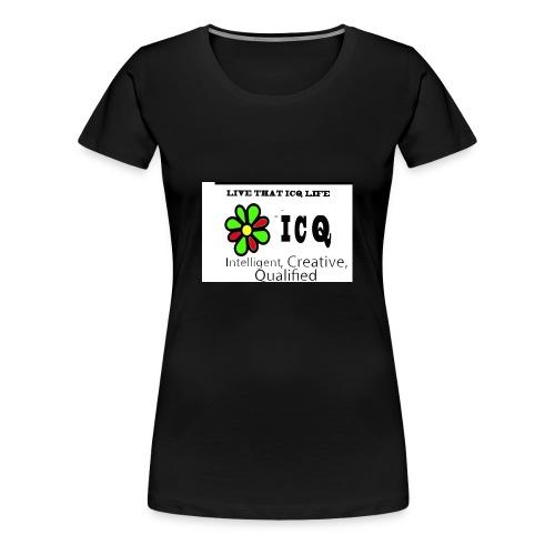 bunk new ICQ edited 33 - Women's Premium T-Shirt