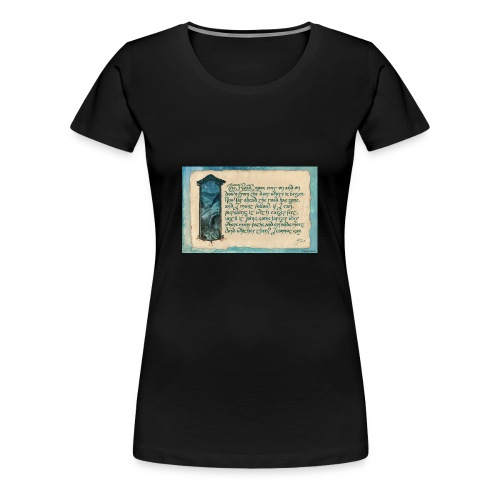 A Parkie's Tale-The Road Goes Ever On - Women's Premium T-Shirt