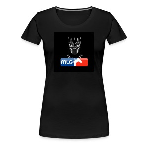 BlackPanther46MLG - Women's Premium T-Shirt