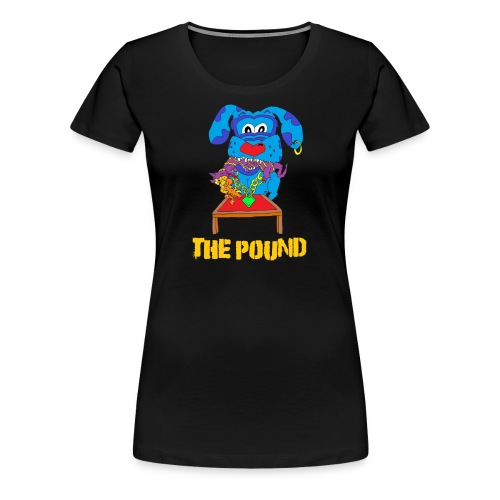 Food Chain at The Pound - Women's Premium T-Shirt