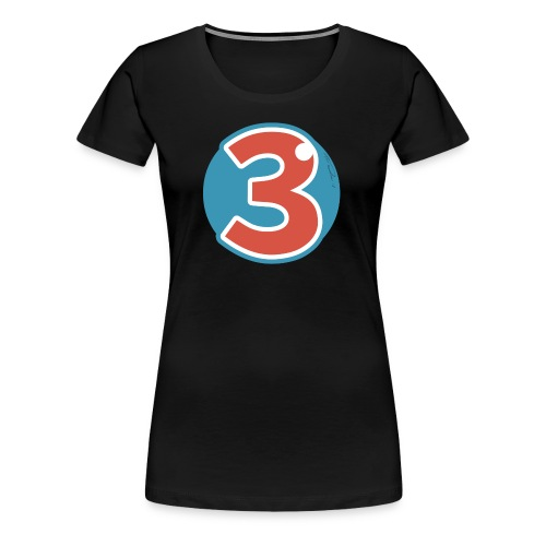 3 Years - Women's Premium T-Shirt