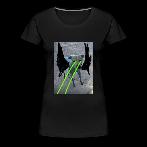 King Gatsby's Holiday retina lazers - Women's Premium T-Shirt