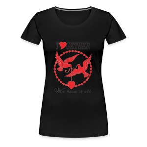 Awesome Valentines Gift 1 - Women's Premium T-Shirt
