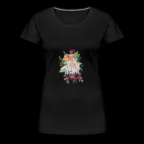 J ASMR Floral - Women's Premium T-Shirt