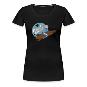 WoodRocket Rocket Girl - Women's Premium T-Shirt
