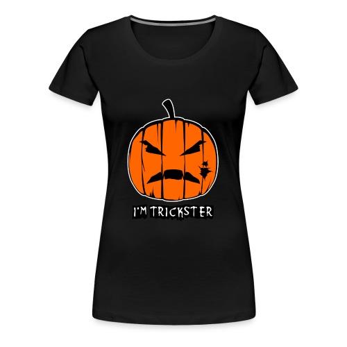 HALLOWEEN - IM TRICKSTER - Women's Premium T-Shirt