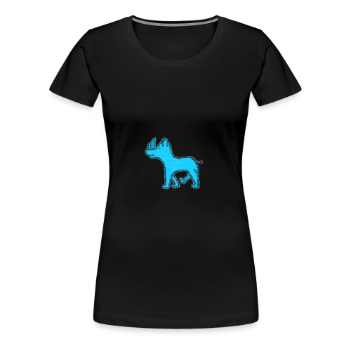 The Diamond Rhino - Women's Premium T-Shirt