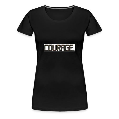 COURAGEOUS WARRIORS APPAREL - Women's Premium T-Shirt