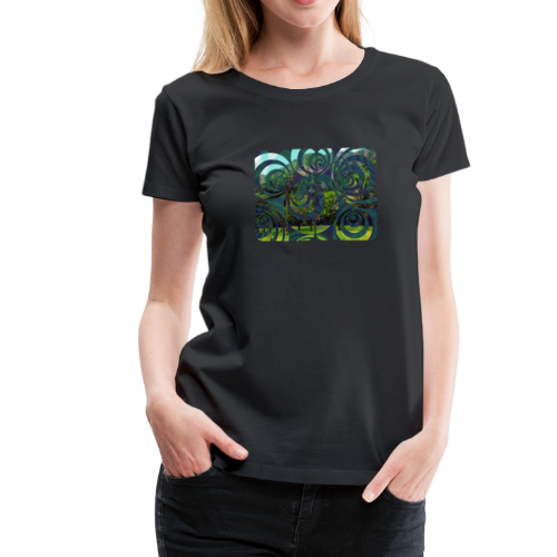 Ho'omaluhia Dreaming - Women's Premium T-Shirt