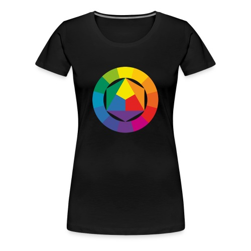 Color Circle - Women's Premium T-Shirt