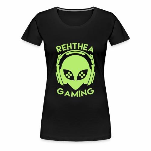 Alien Head Rehthea Gaming - Women's Premium T-Shirt