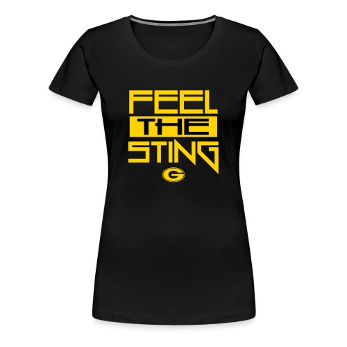 Feel The Sting - Women's Premium T-Shirt