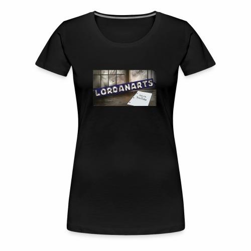 LordanArts Channel Banner - Women's Premium T-Shirt