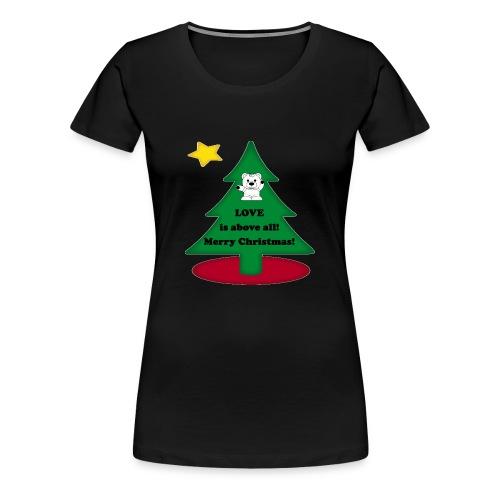 Christmas is love - Women's Premium T-Shirt