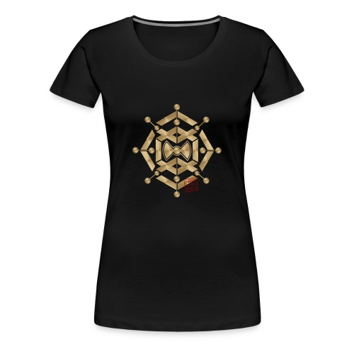 Crop circle 54 - Women's Premium T-Shirt