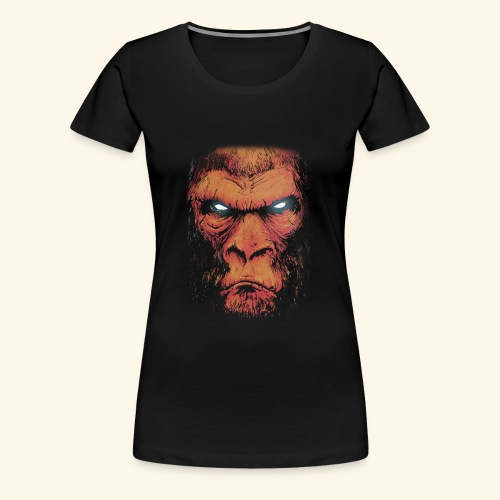 Monkey Business kahve - Women's Premium T-Shirt
