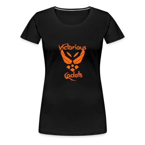 Victorious Cadets Logo - Orange - Women's Premium T-Shirt