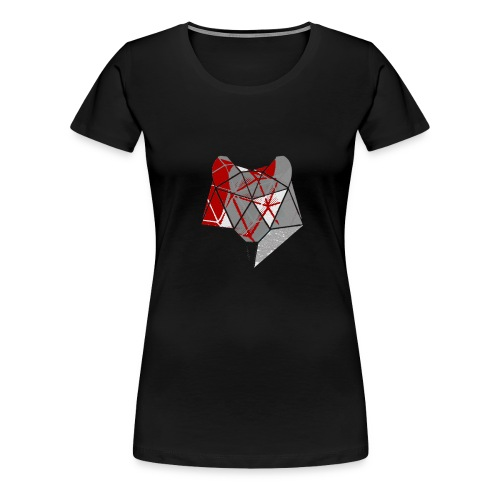 Abstract Wolf - Women's Premium T-Shirt