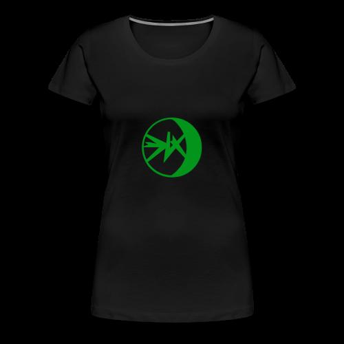 EKlips Clothing Green/Blk - Women's Premium T-Shirt