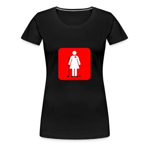 Women's Golf Day - Women's Premium T-Shirt