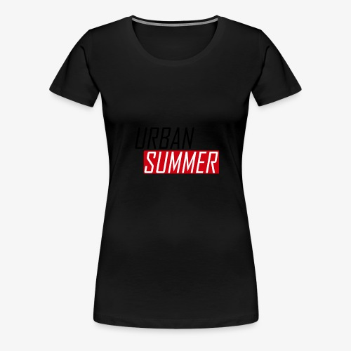 Urban Summer Logo - Women's Premium T-Shirt