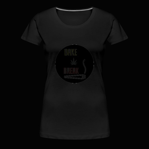Bake Break Logo Cutout - Women's Premium T-Shirt