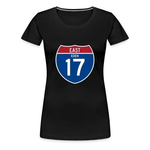 Road Sign Eden - Women's Premium T-Shirt