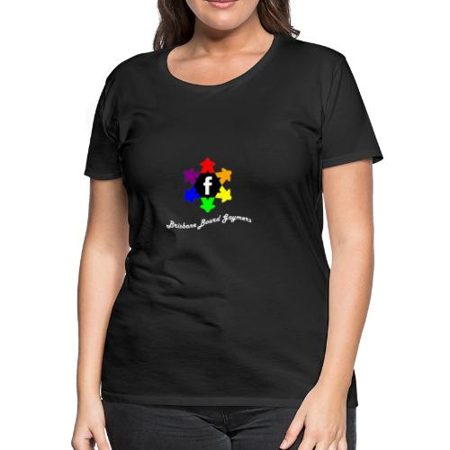 Brisbane Board Gaymers - Women's Premium T-Shirt