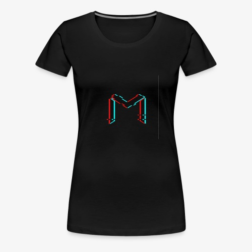 mavro logo glitch - Women's Premium T-Shirt