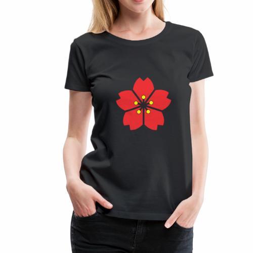cherry blossom Autumn - Women's Premium T-Shirt