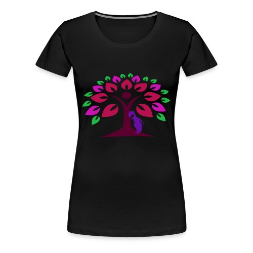 Abstract Nature - Women's Premium T-Shirt